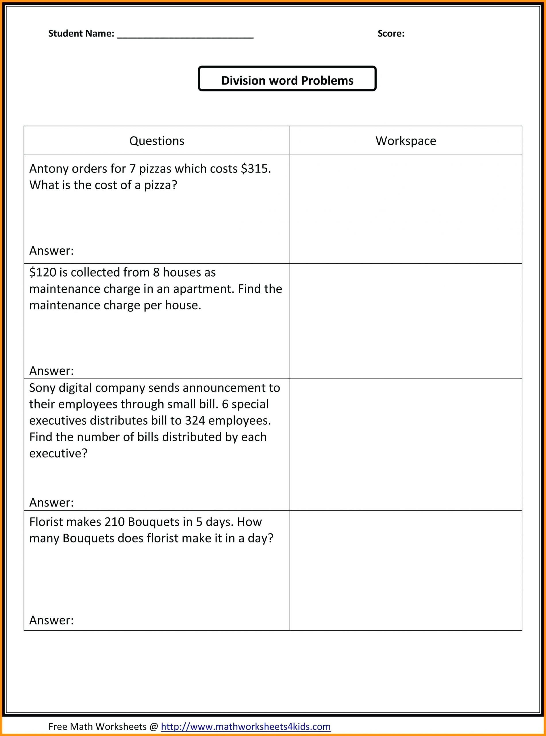 Multiplying And Dividing Fractions Word Problems Worksheets Pdf