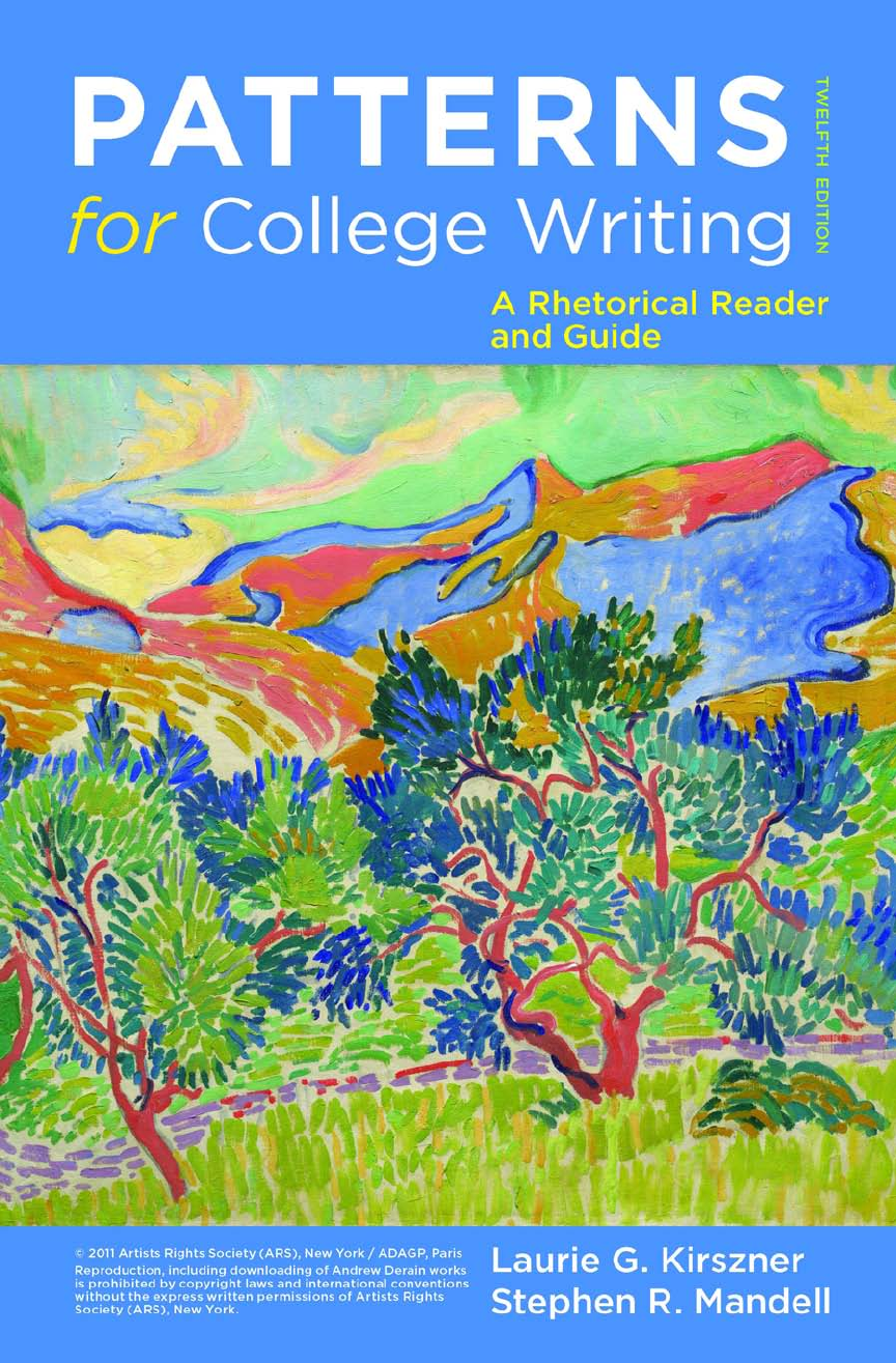 Patterns For College Writing Pdf