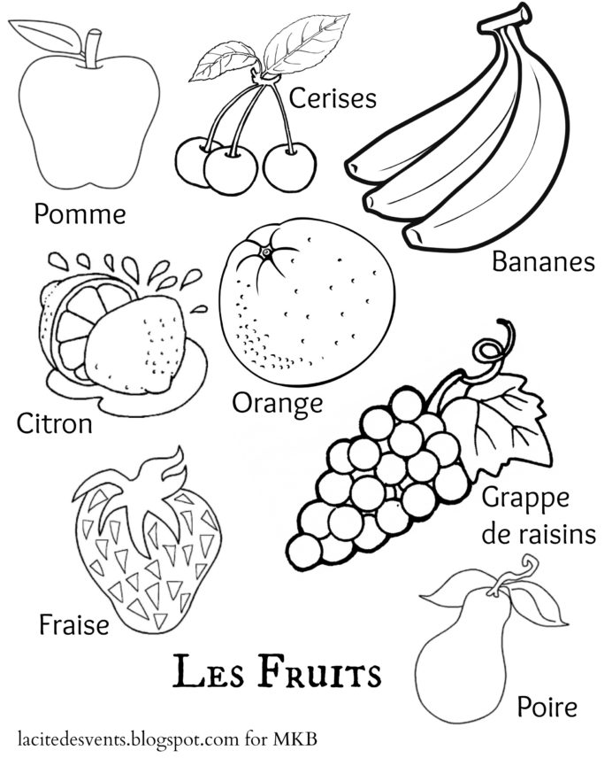 Drawing Fruits And Vegetables Worksheets Multilingual Printables Fruits And Vegetables In 7 Languages