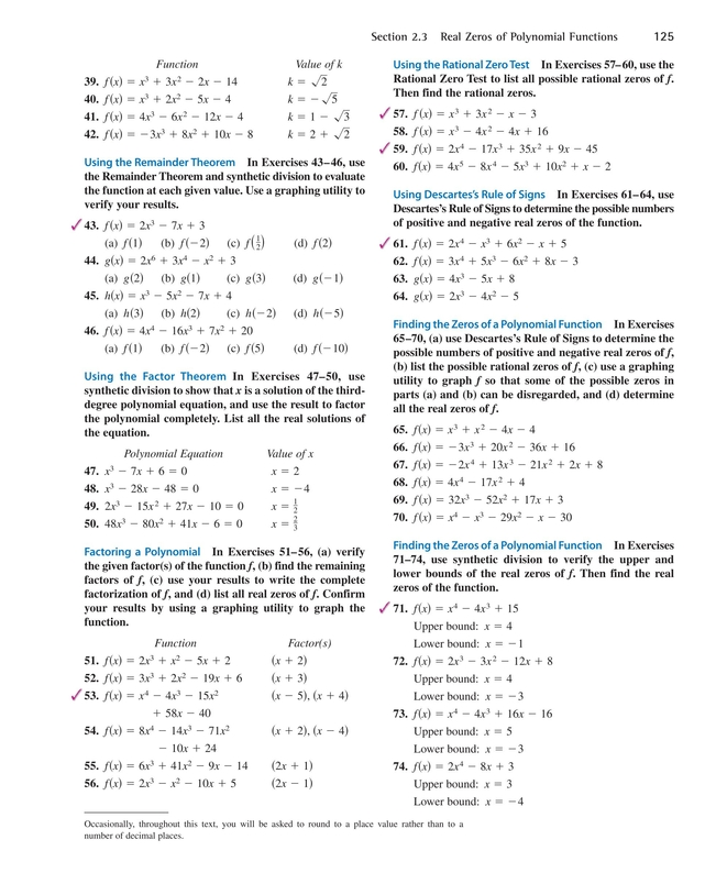 Precalculus With Limits A Graphing Approach Pdf Answers