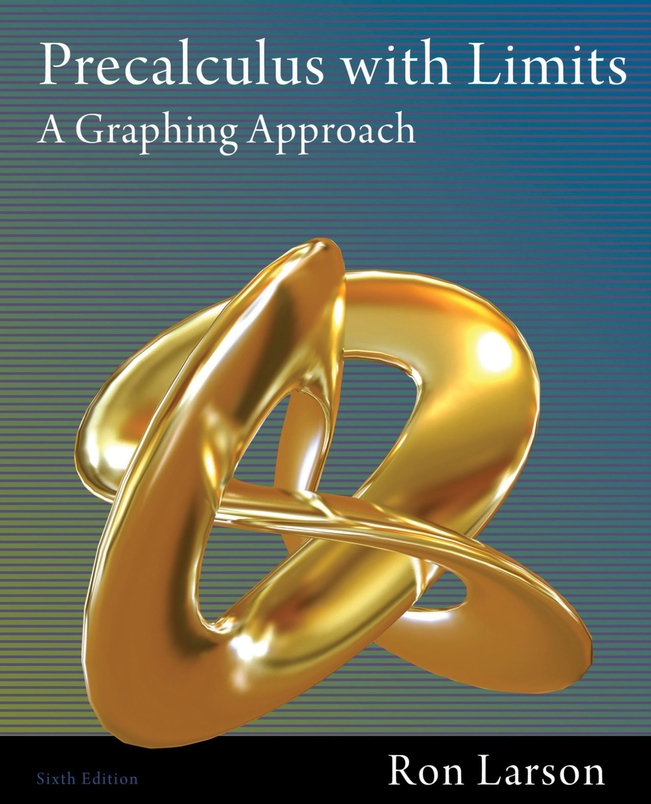Precalculus With Limits A Graphing Approach Pdf Chapter 5