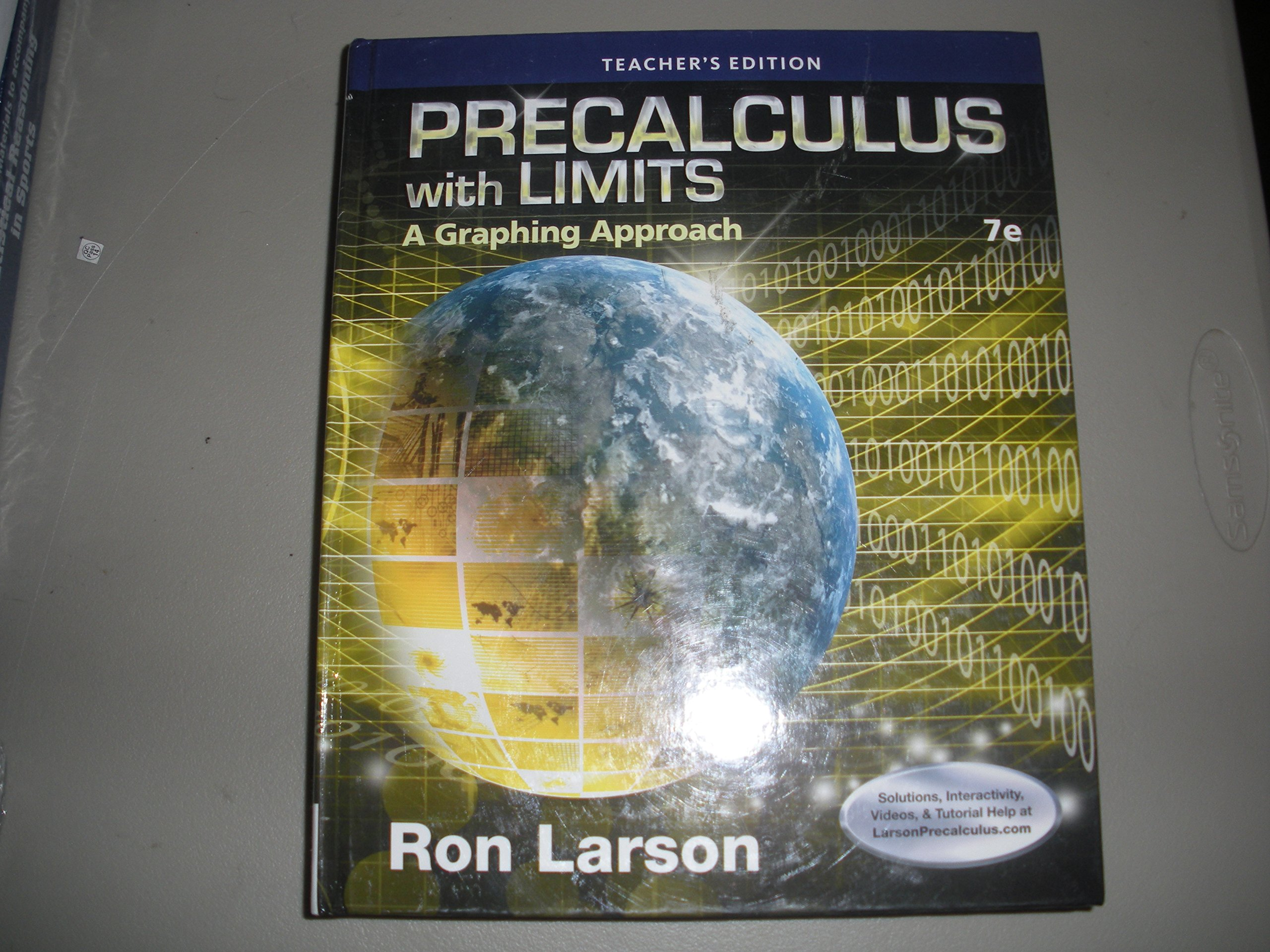Precalculus With Limits A Graphing Approach Ron Larson Pdf