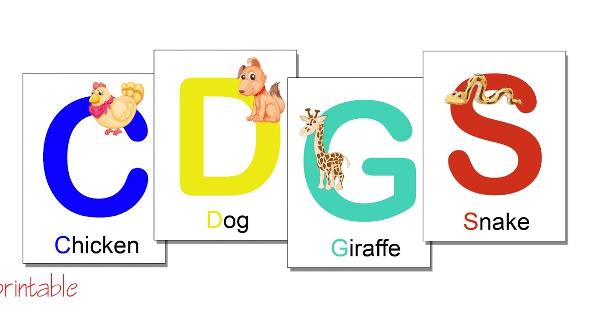 Printable Alphabet Flash Cards Pdf