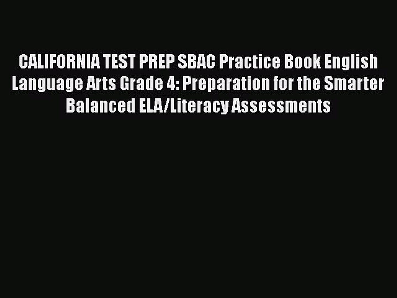 Sbac Practice Test Pdf