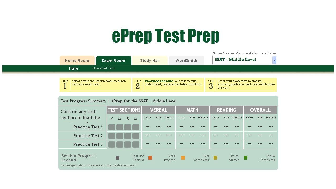 Ssat Practice Test Pdf