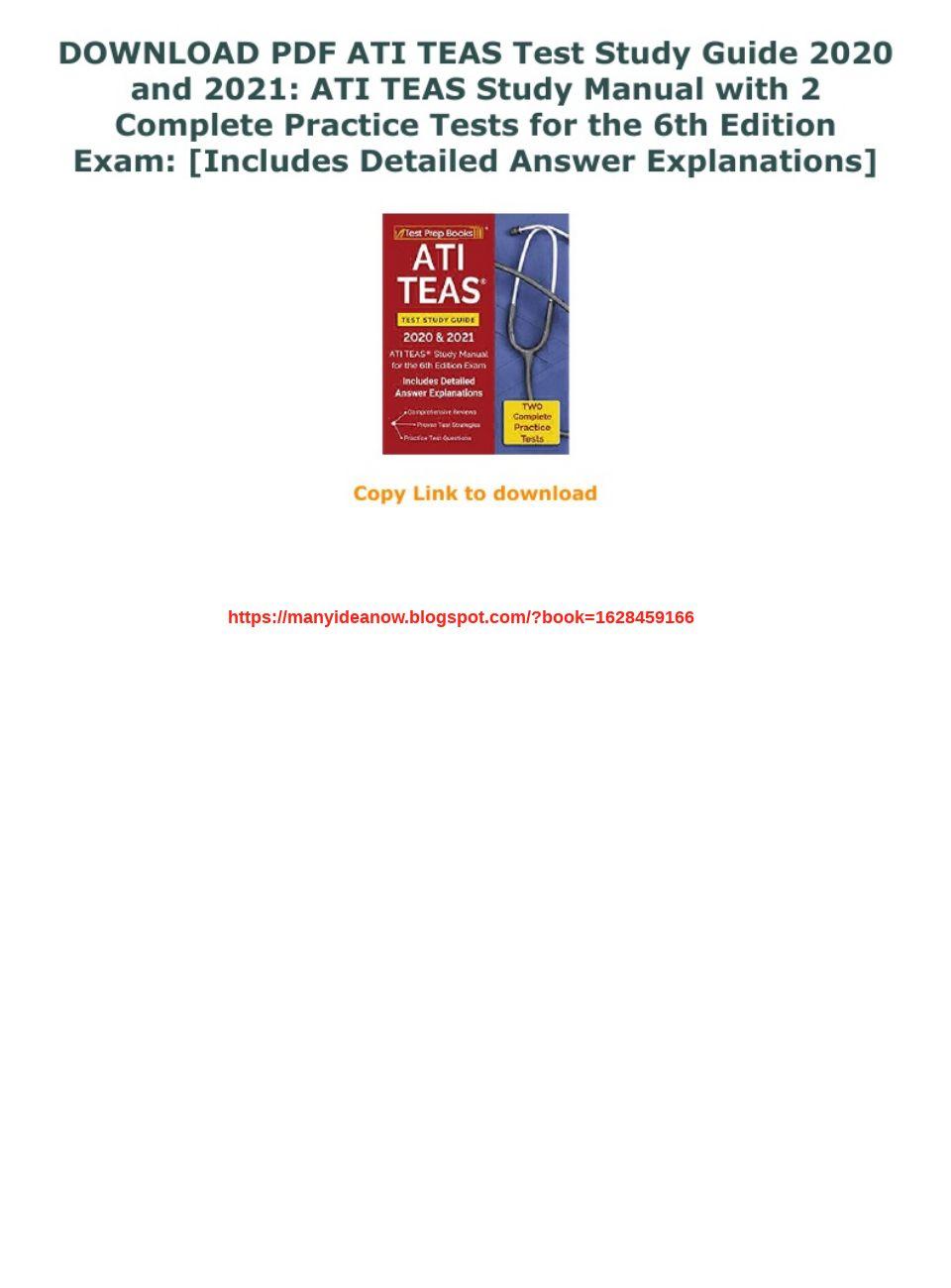Teas Study Guide Pdf