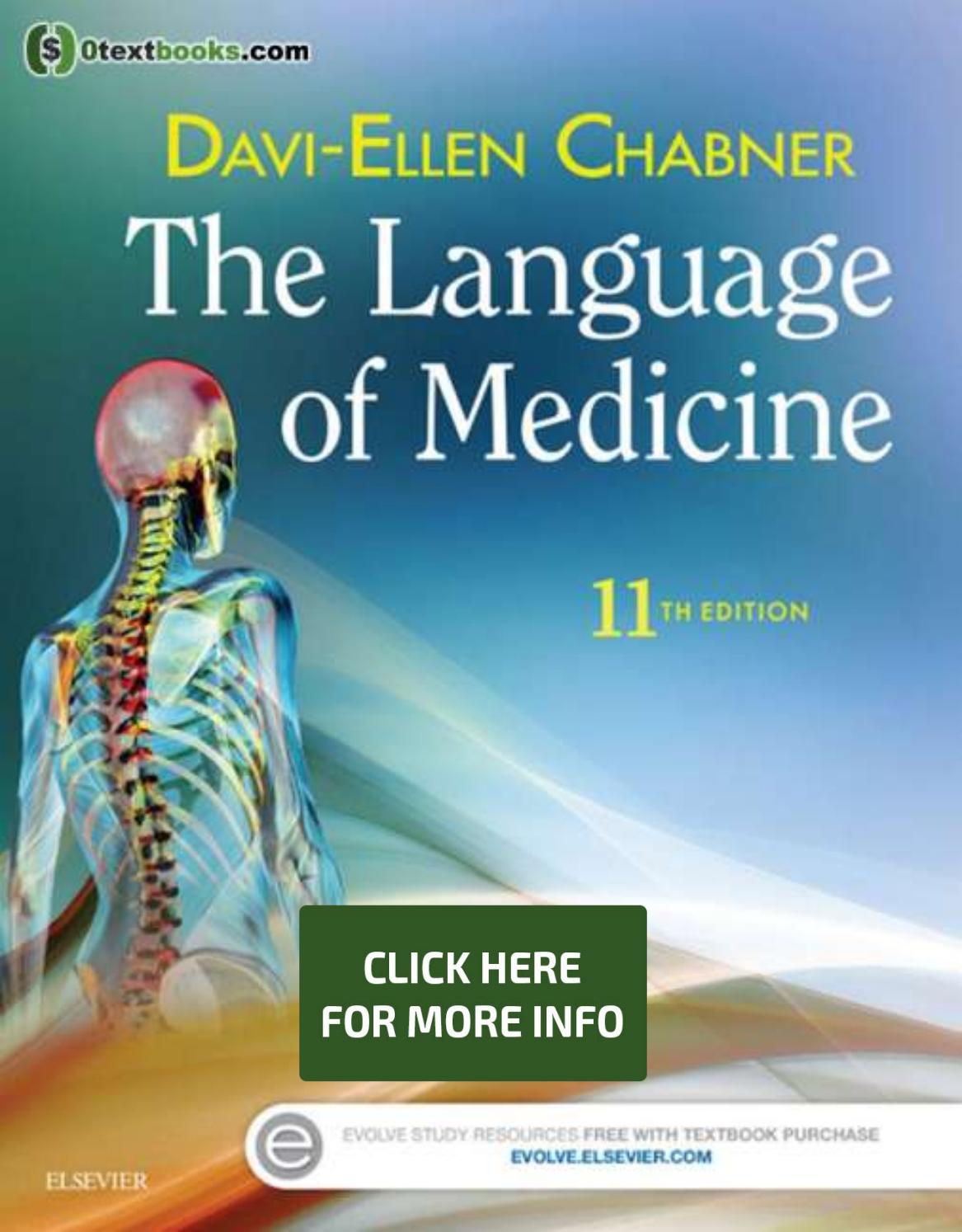 The Language Of Medicine 11th Edition Pdf