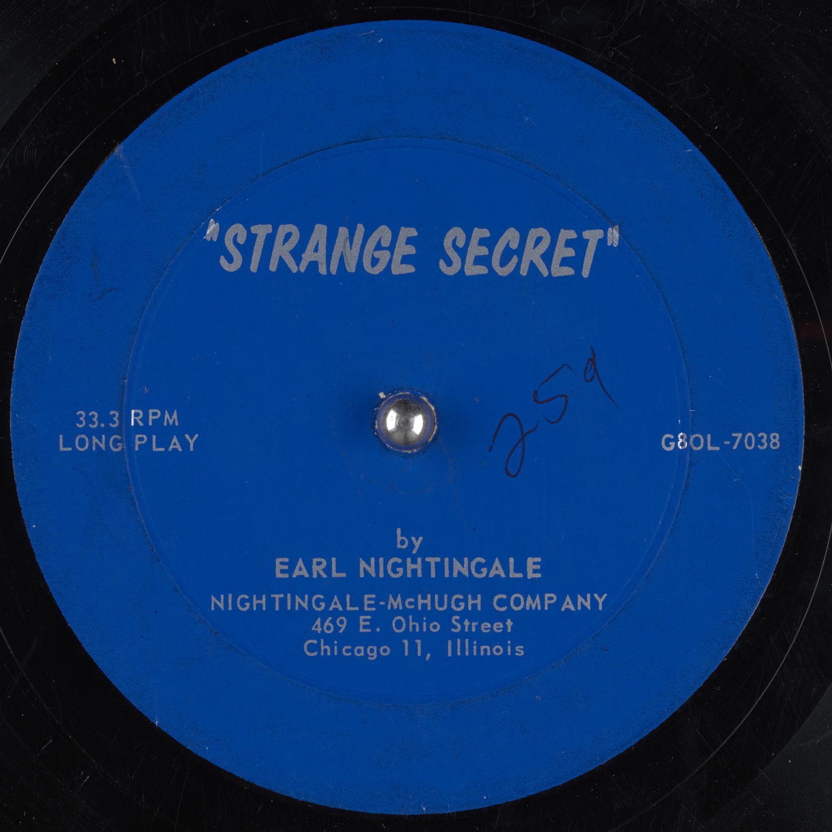 Https://archive.org/details/78 Strange Secret Earl Nightingale Gbia0000649a