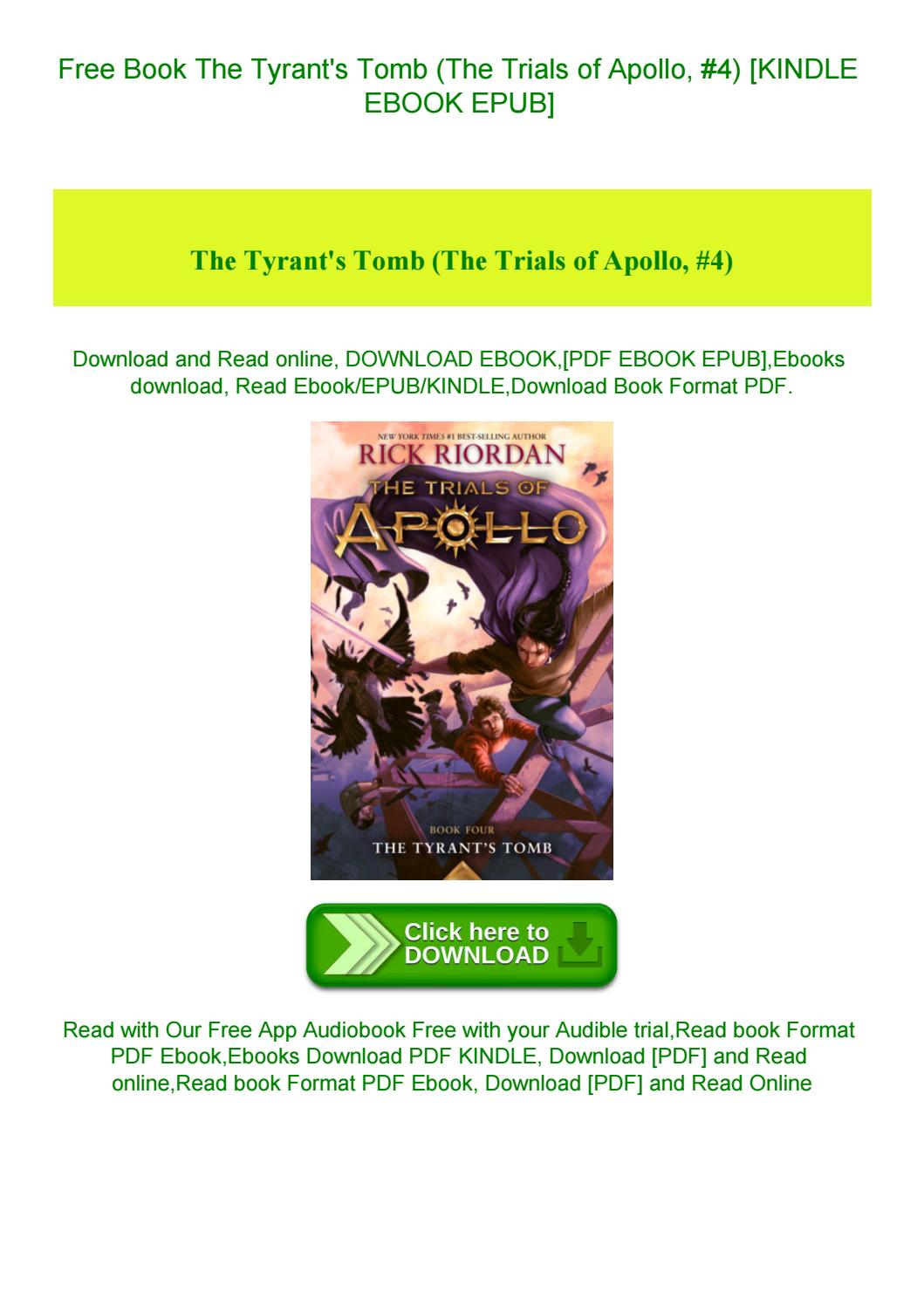 Trials Of Apollo Pdf Book 4 Download