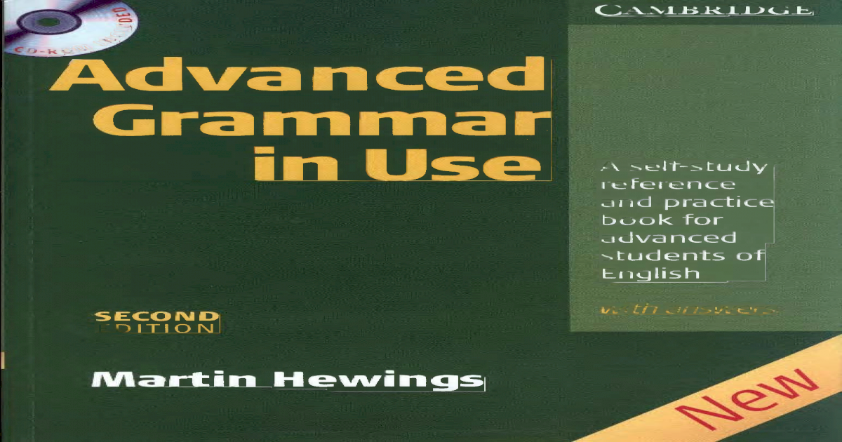 Advanced English Grammar In Use Pdf