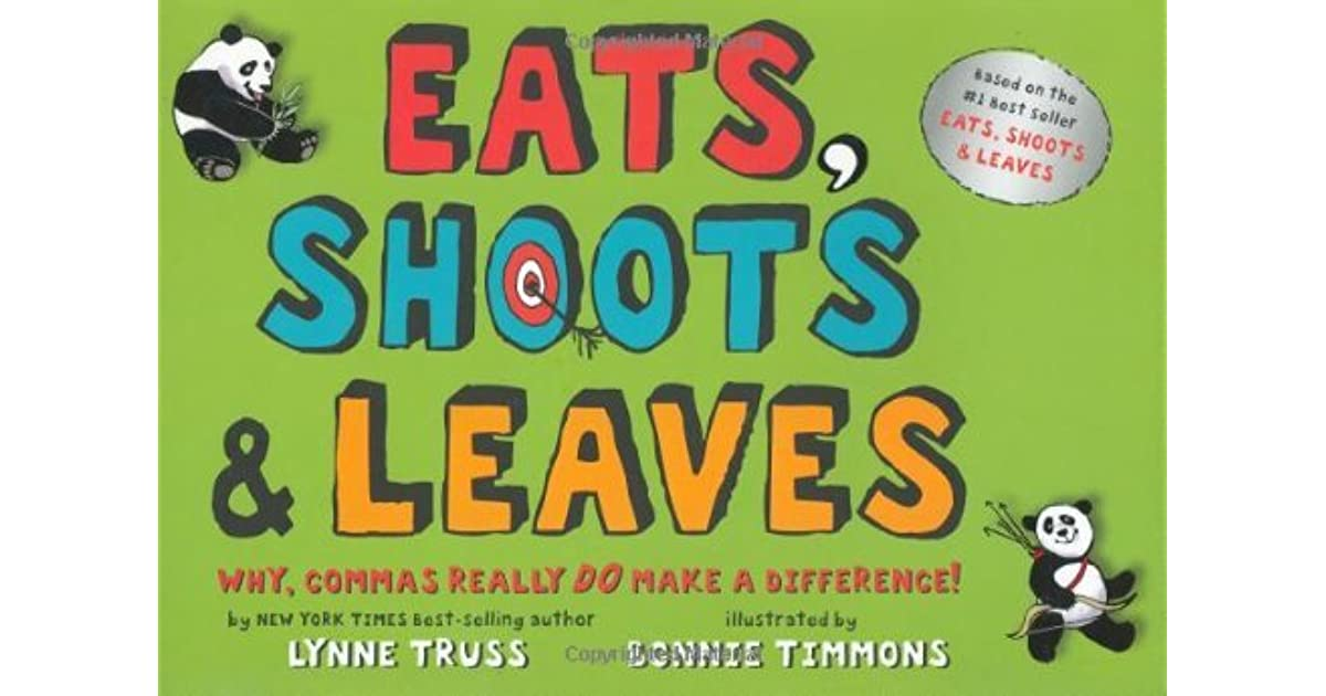 Eats Shoots And Leaves Pdf Free Download