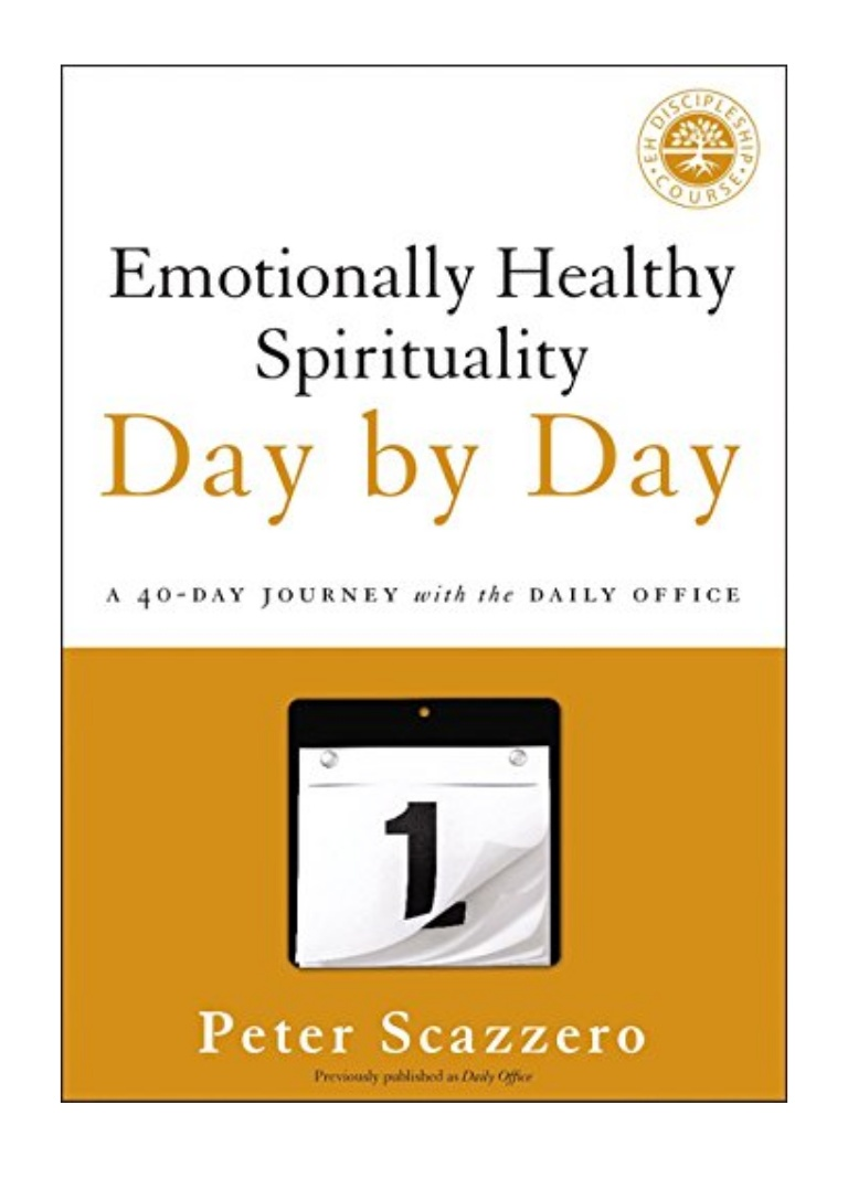 Emotionally Healthy Spirituality Pdf