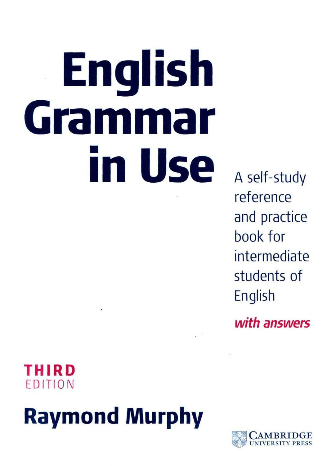 English Grammar In Use Pdf Book