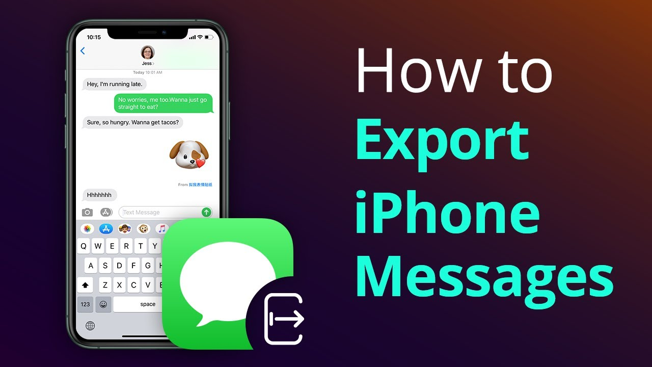 Export Imessages To Pdf