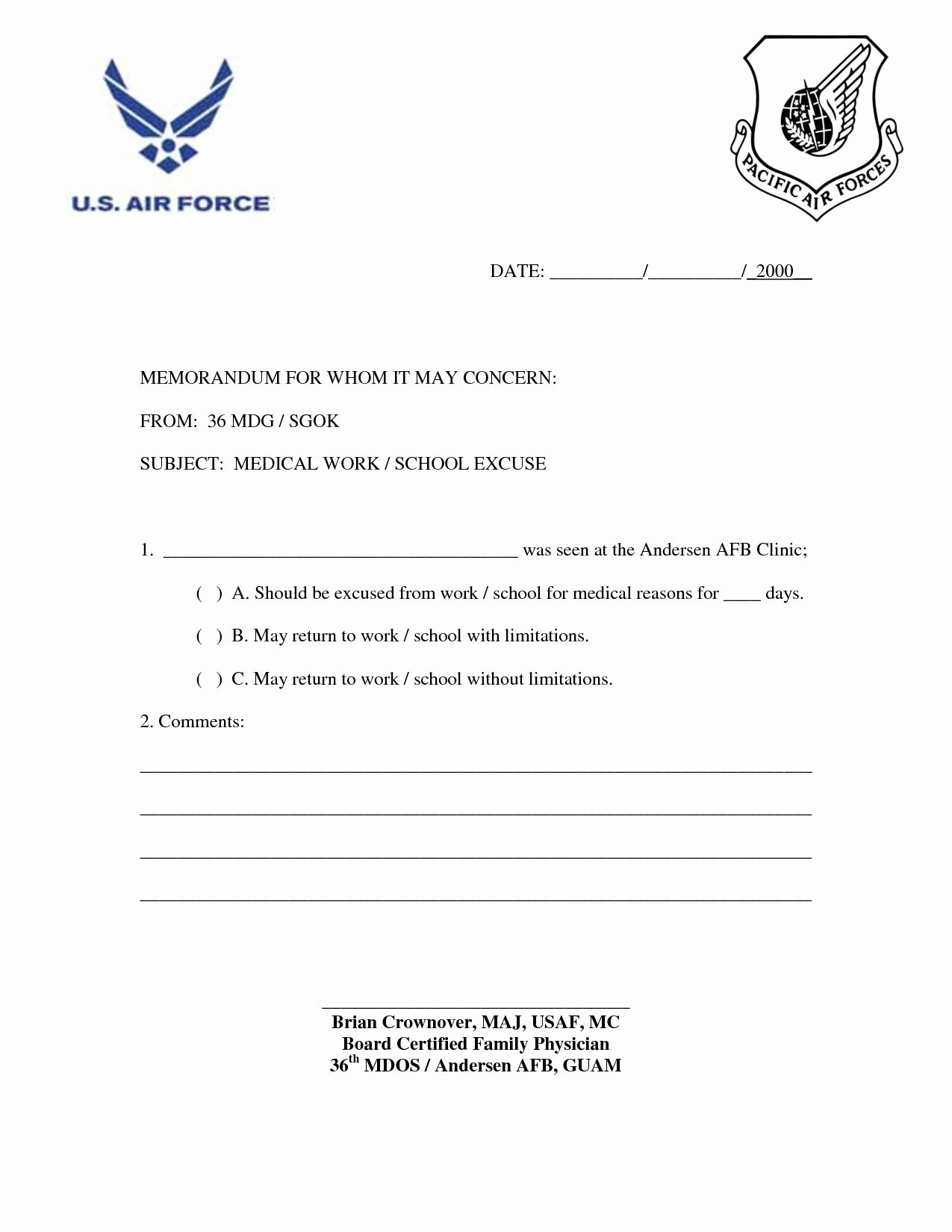 Fake Doctors Note For Work Pdf