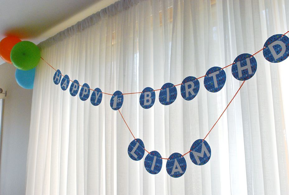 Free Happy Birthday Banner Printable Pdf Blue