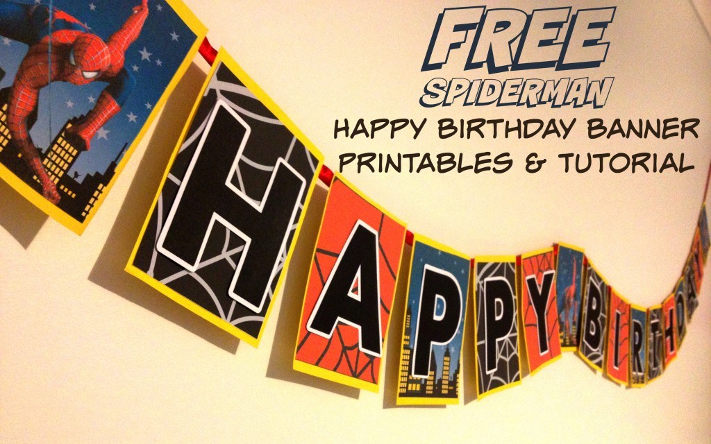 Free Happy Birthday Banner Printable Pdf For Boy