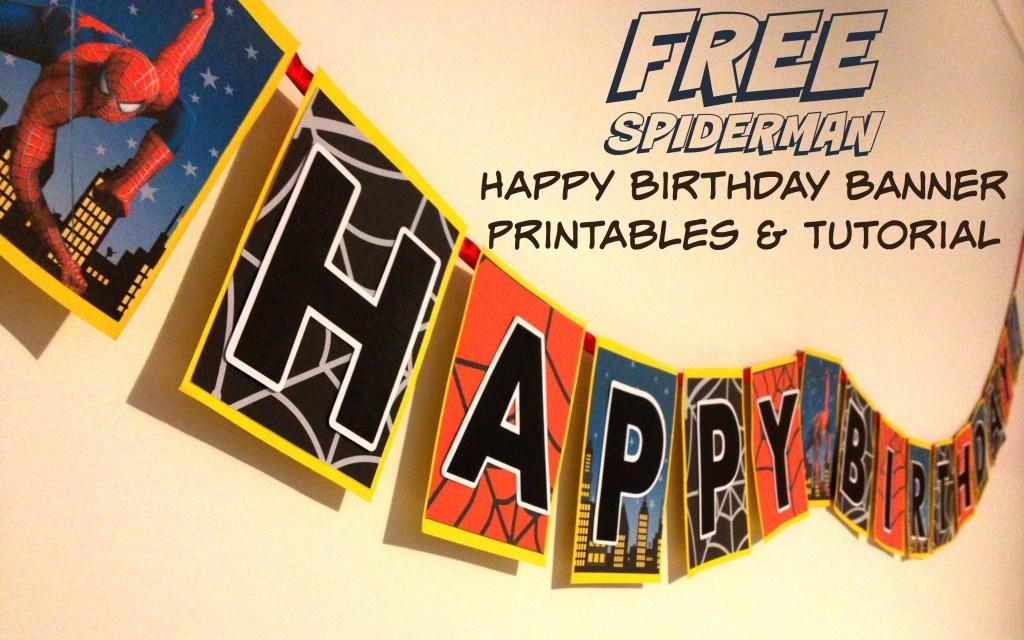 Free Happy Birthday Banner Printable Pdf For Boy