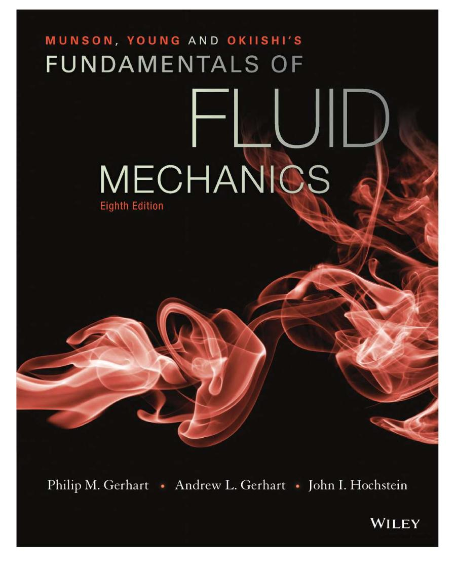 Fundamentals Of Fluid Mechanics 8th Edition Pdf Free
