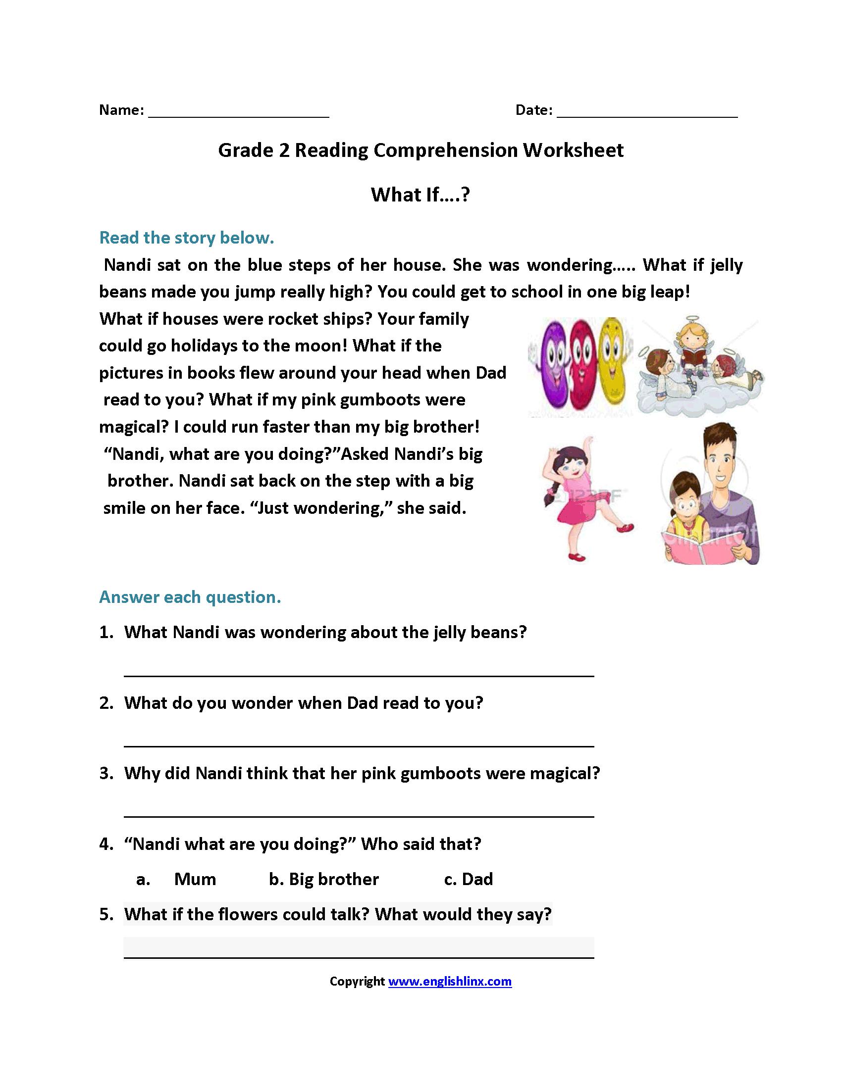 Grade 2 Reading Comprehension Pdf