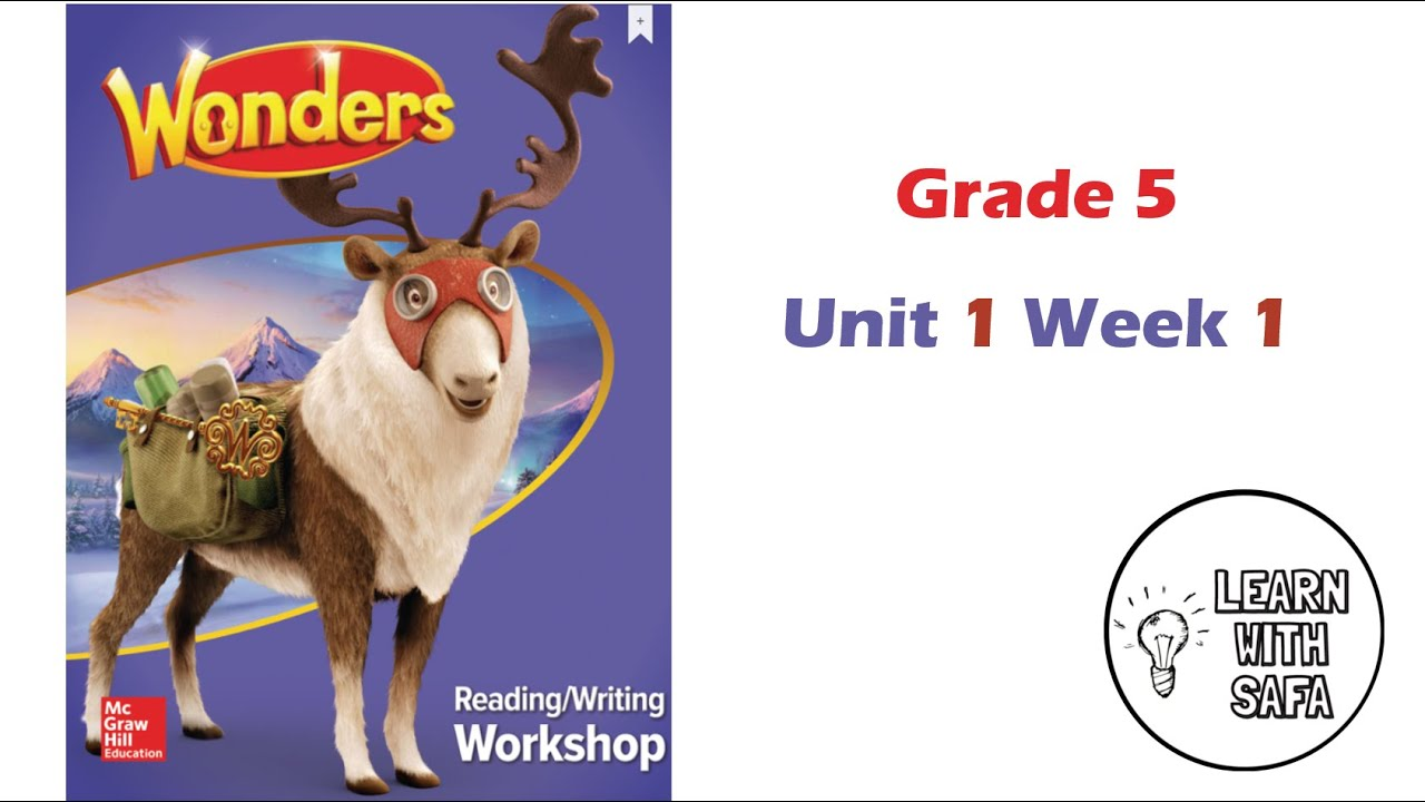 Grade 5 Mcgraw Hill Reading Wonders 5th Grade Pdf