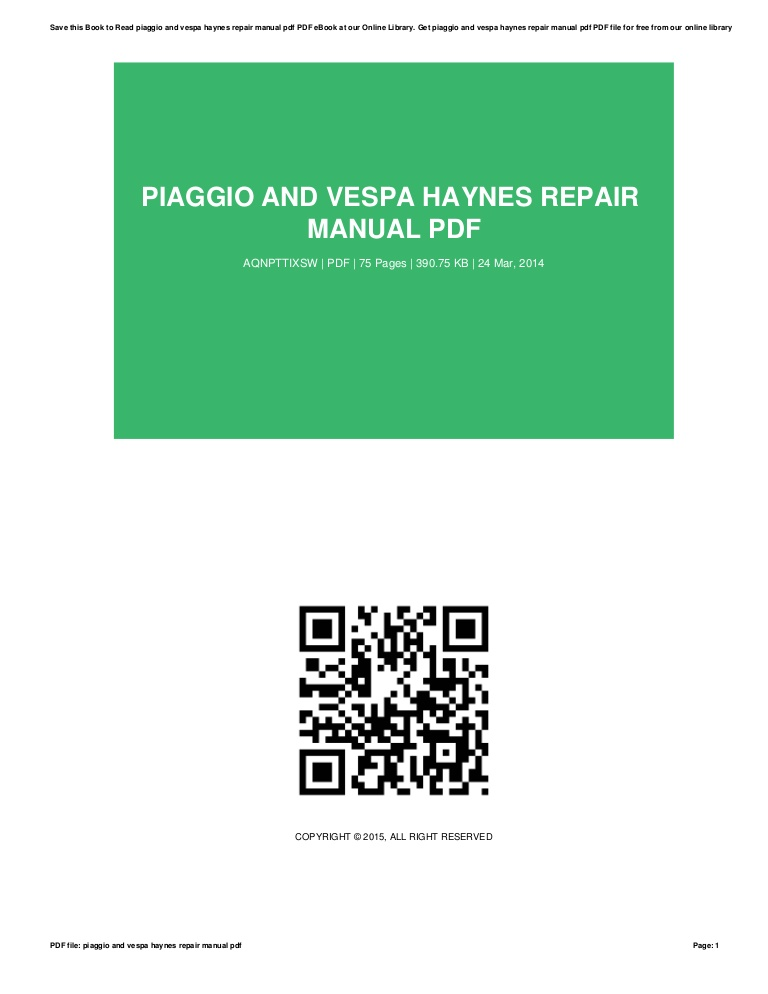 Haynes Repair Manual Pdf