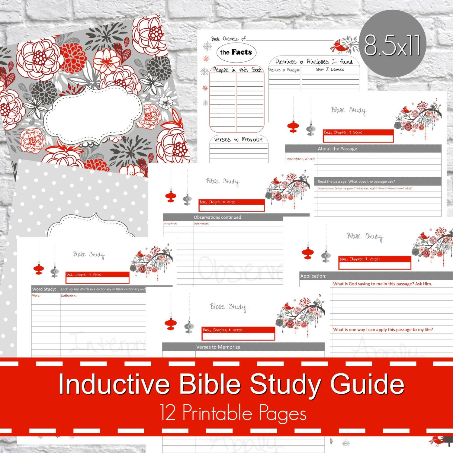 Inductive Bible Study Guide Pdf