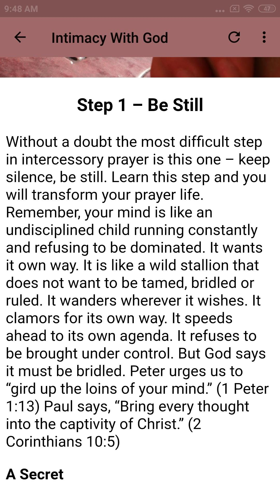 Intercessory Prayer Examples Pdf
