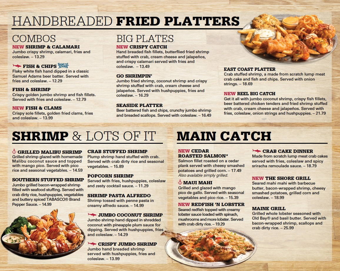 Joe's Crab Shack Menu Pdf