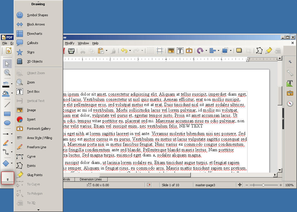 Libreoffice Draw Pdf Editor Online