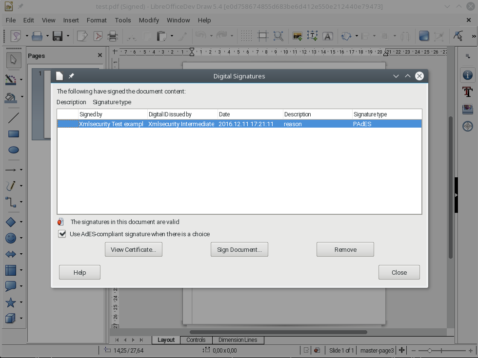 Libreoffice Draw Pdf Editor Signature