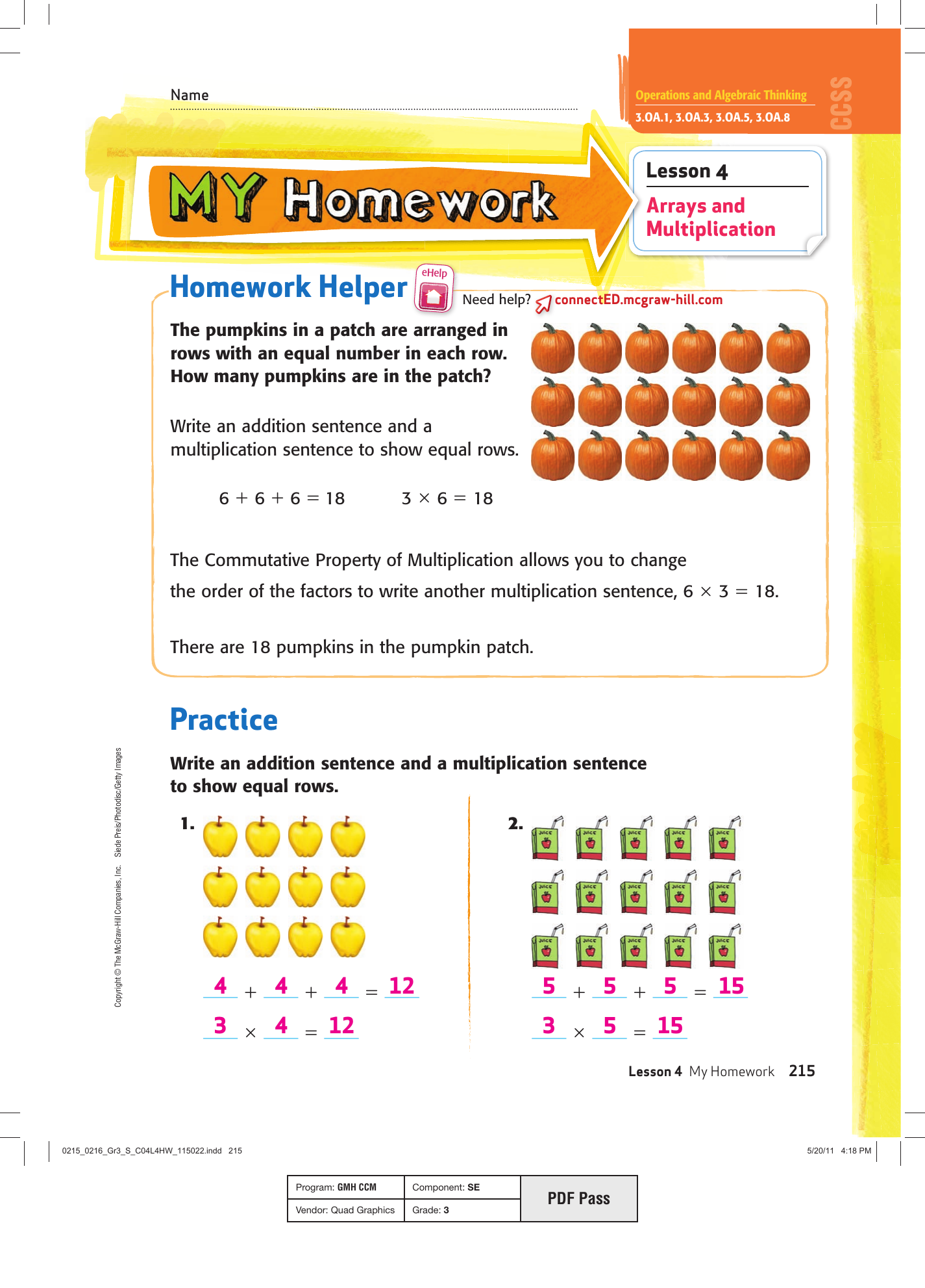 Mcgraw Hill My Math Grade 4 Teacher Edition Pdf