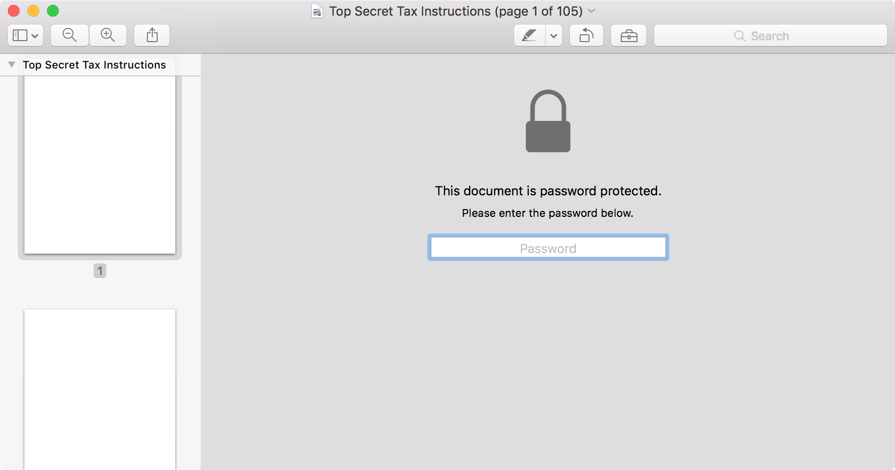 Open Password Protected Pdf Mac
