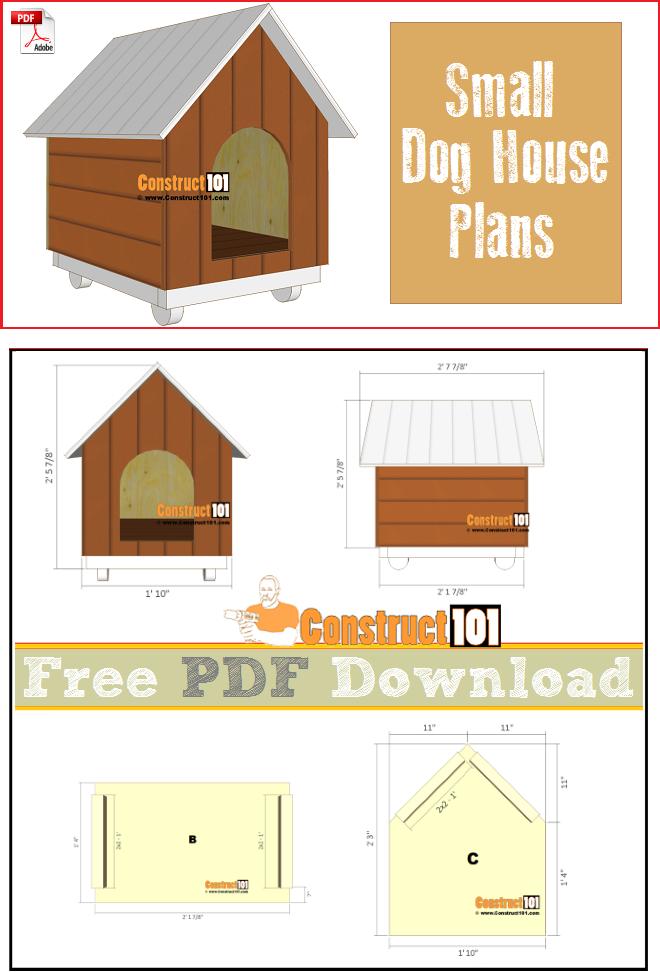 Small Dog House Plans Pdf