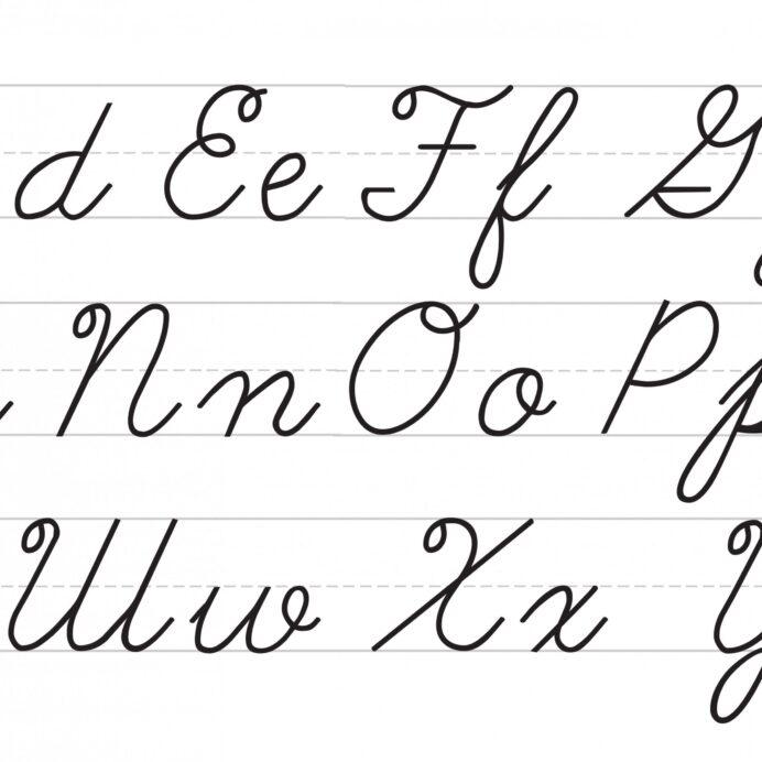 1st Grade Handwriting Worksheets Pdf