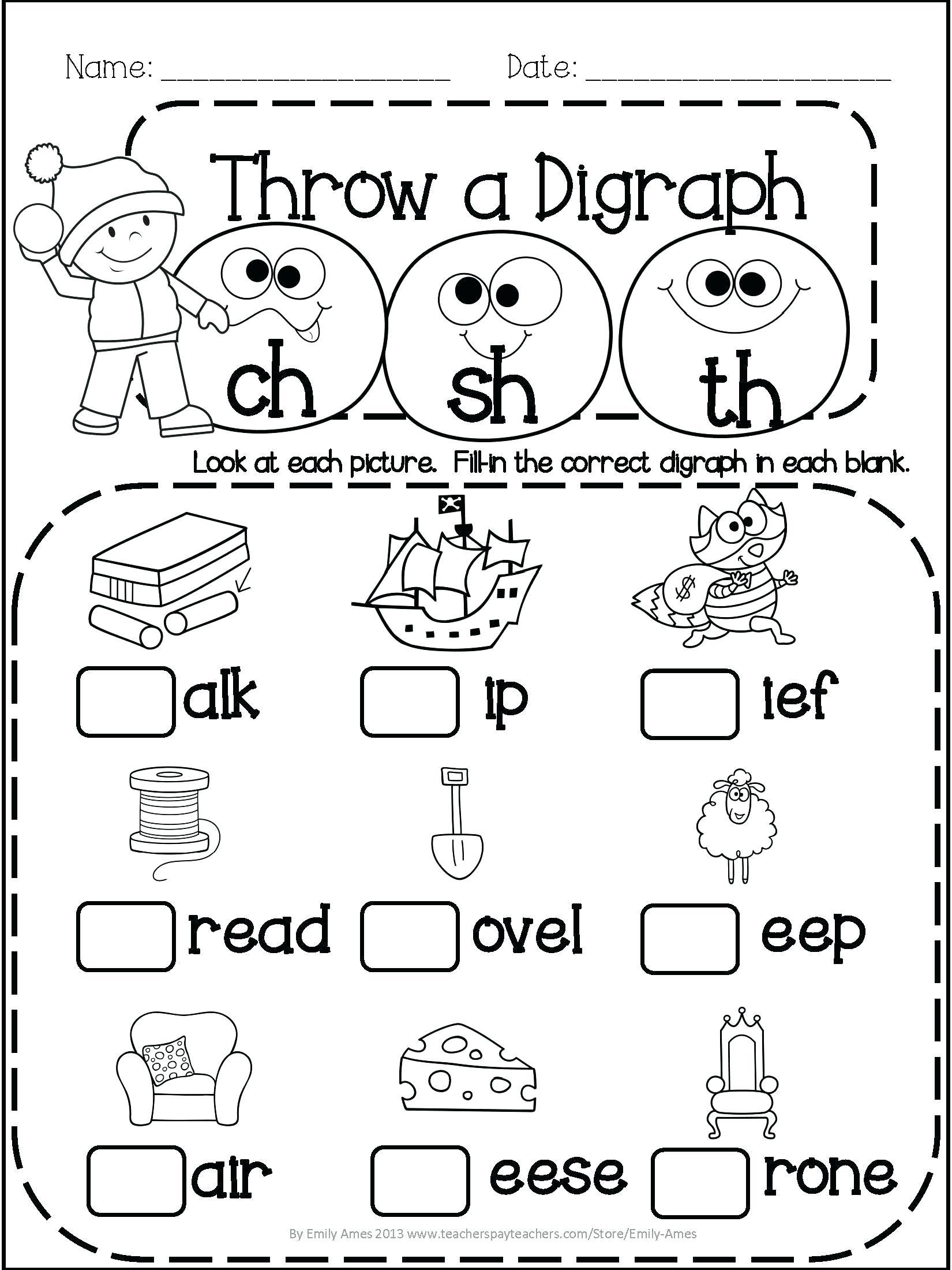 1st Grade Worksheets Pdf Free