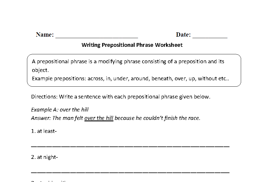3rd Grade Sentence Structure Worksheets Pdf