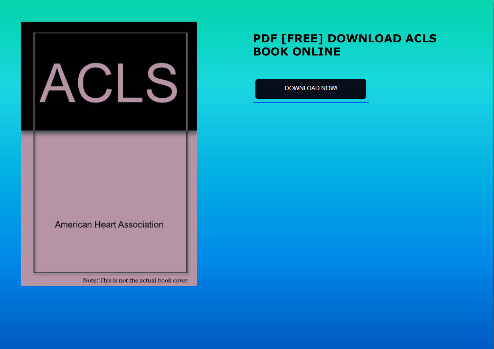 Acls Book Pdf Free Download
