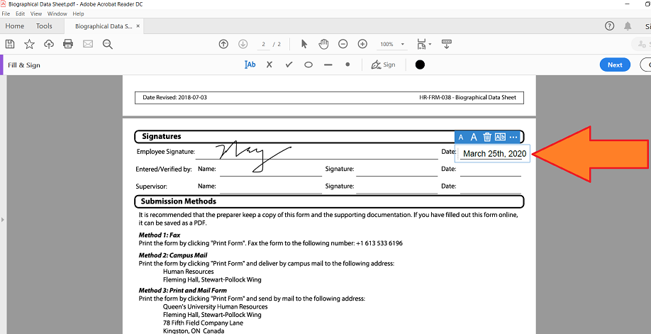 Add Signature Field To Pdf Acrobat Dc