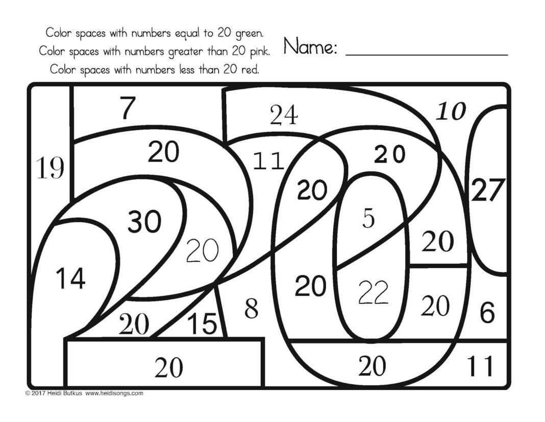 Addition And Subtraction Worksheets For Kindergarten Pdf