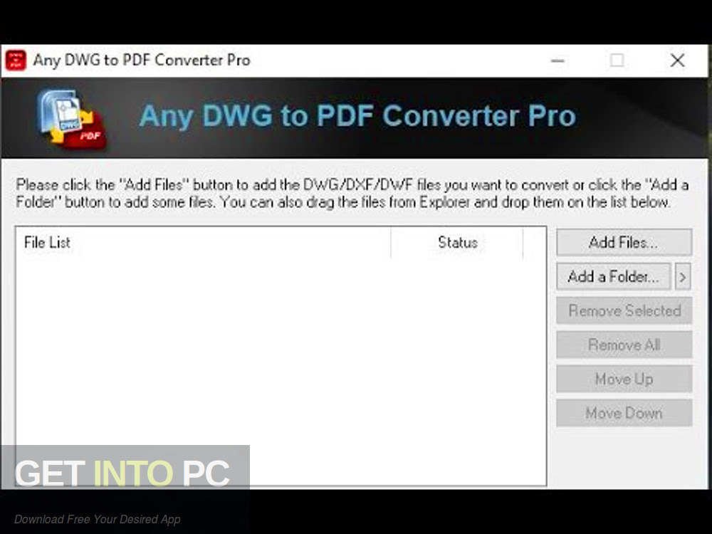 Any Pdf To Dwg Converter Free