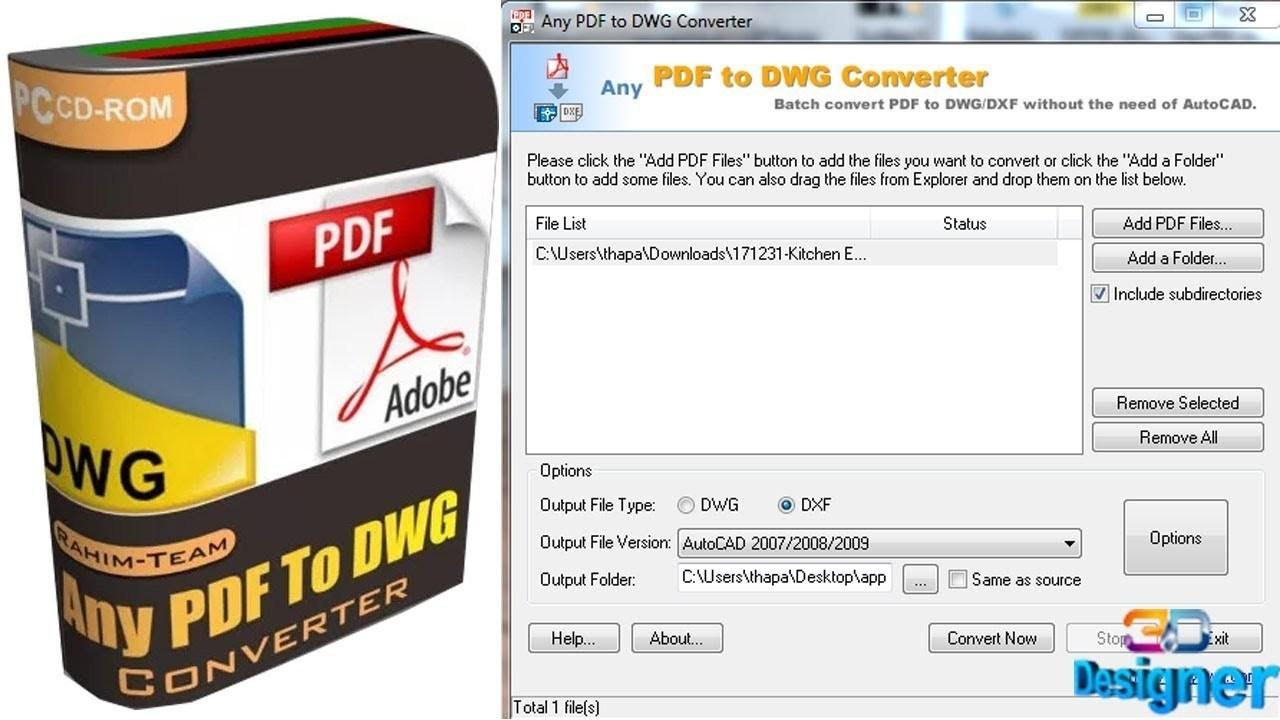 Any Pdf To Dwg Converter Full Crack