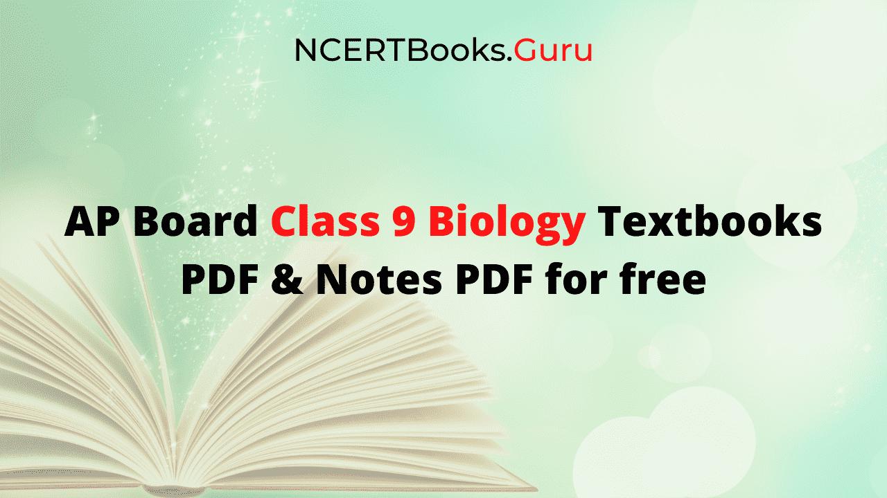 Ap 9th Class Biology Textbook Pdf