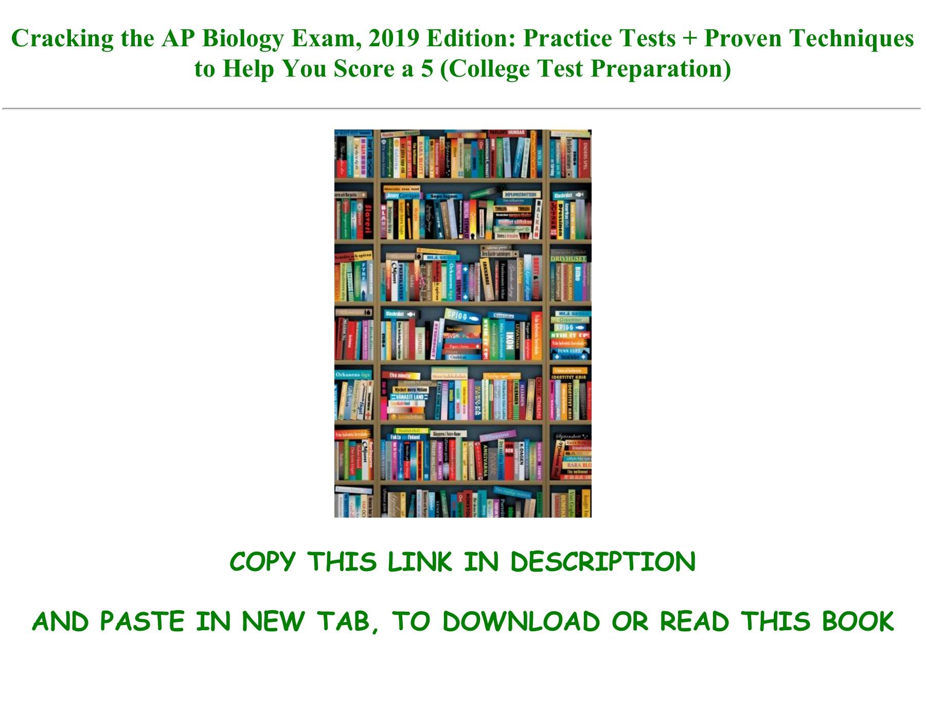 Ap Biology Practice Exam Pdf