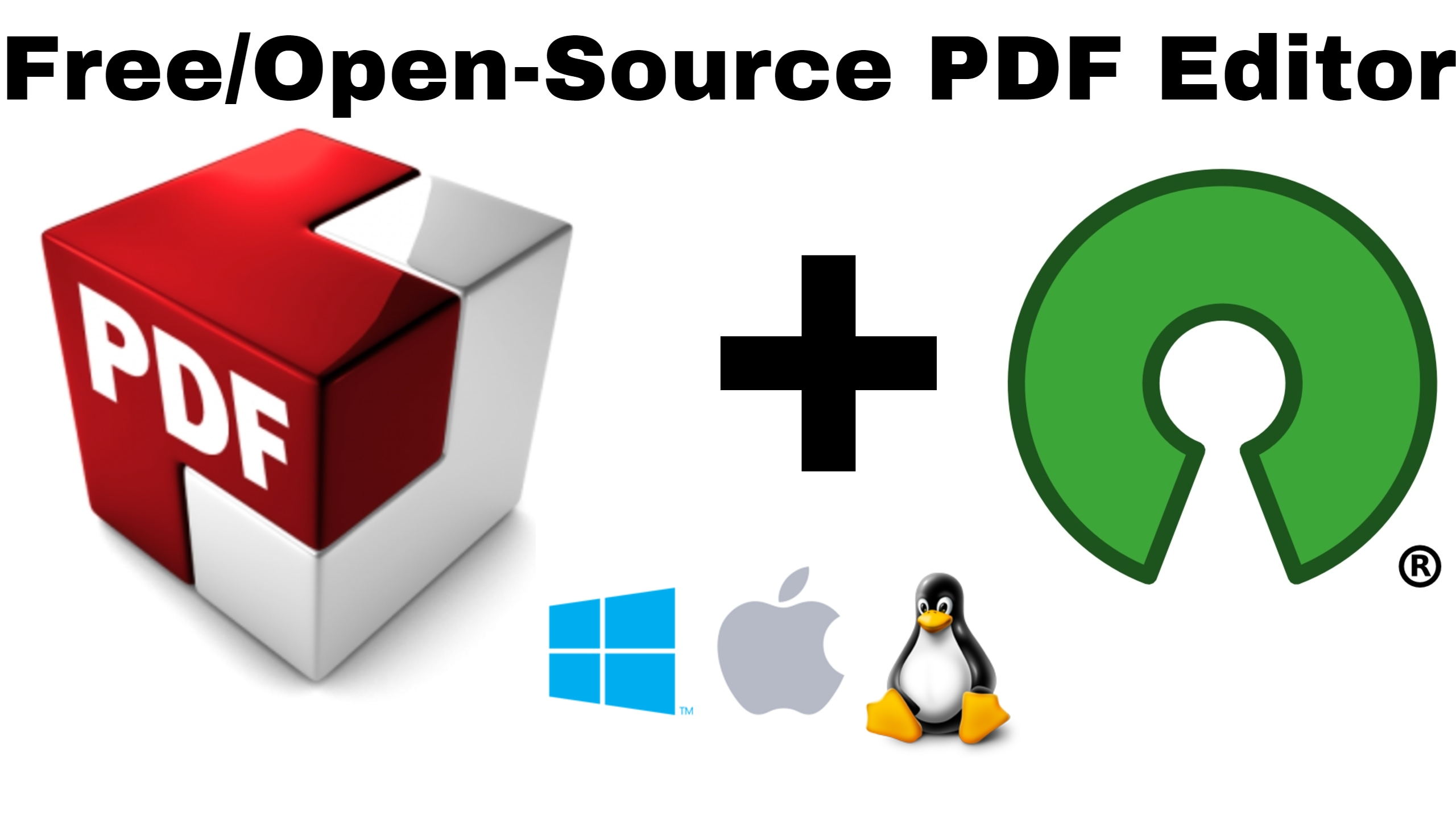 Best Open Source Pdf Editor For Windows