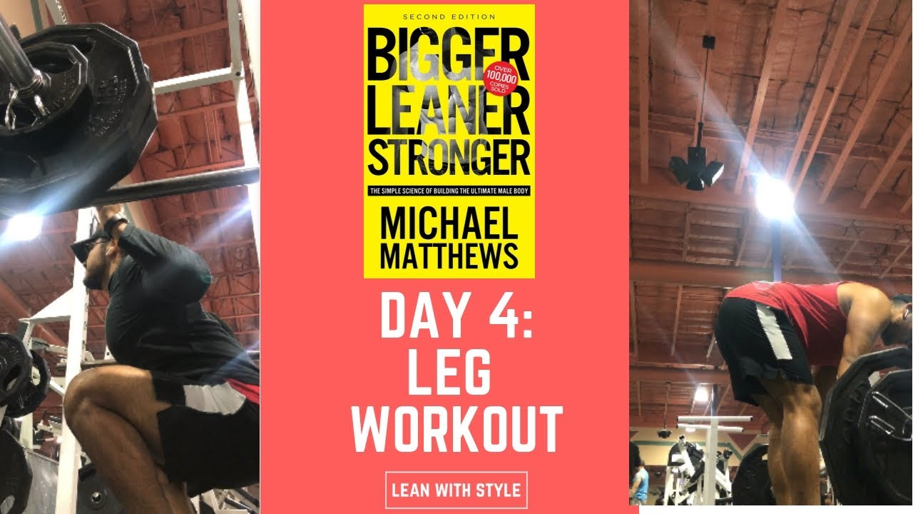 Bigger Leaner Stronger Workout Pdf Reddit