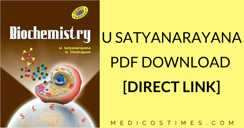 Biochemistry Textbook Satyanarayana Pdf