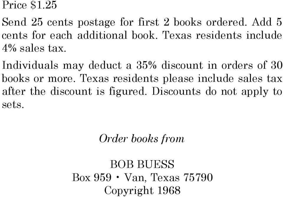 Bob Buess Books Pdf