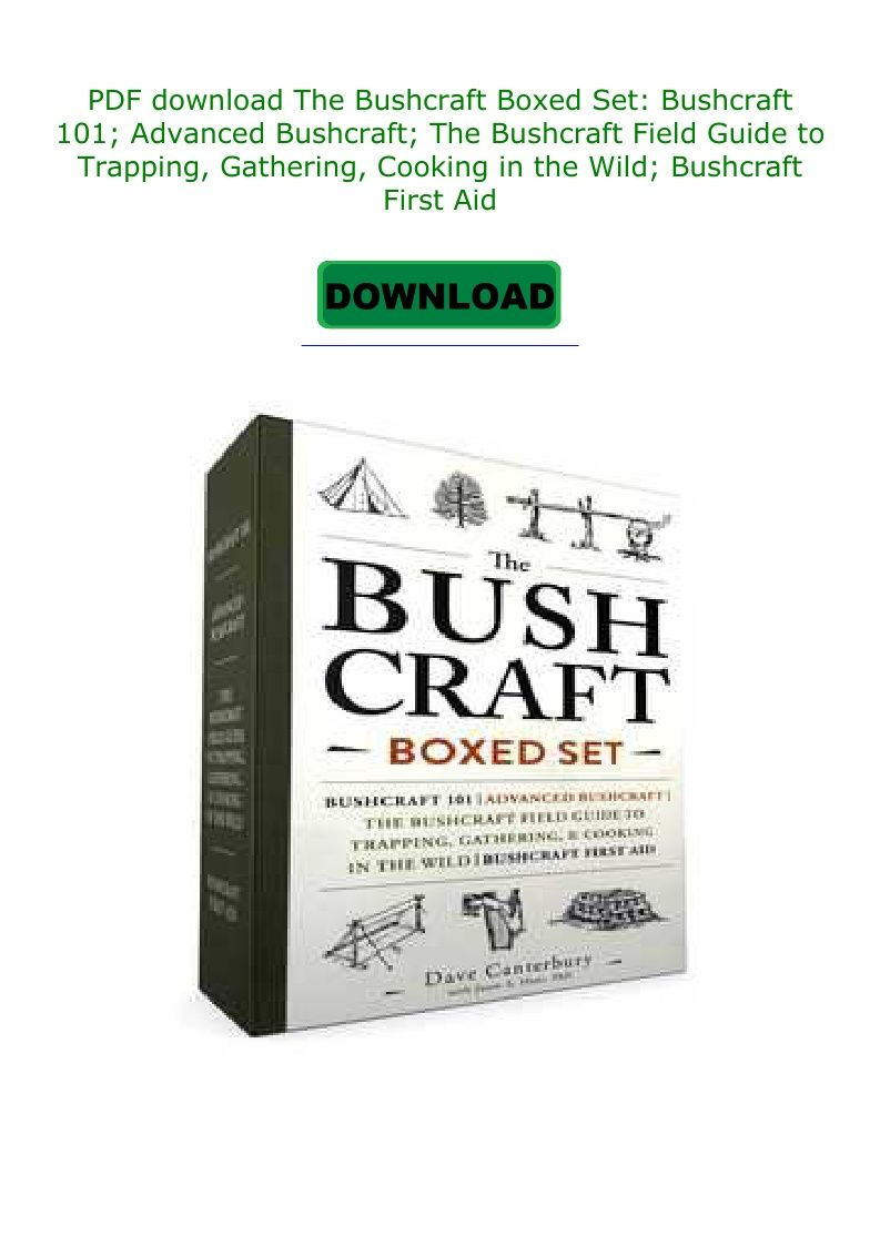 Bushcraft 101 Pdf Download