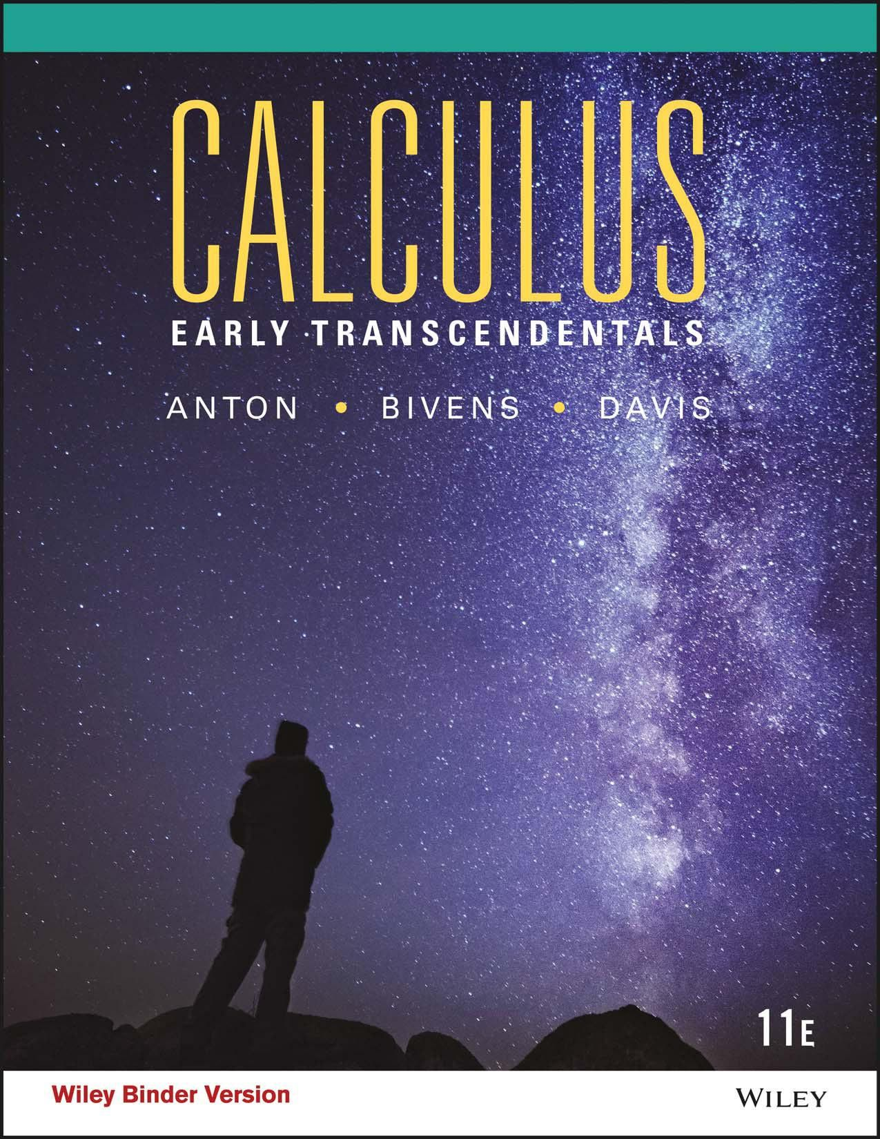 Calculus Early Transcendentals 11th Edition Pdf